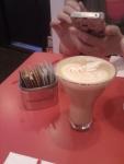 illy hazelnut latte