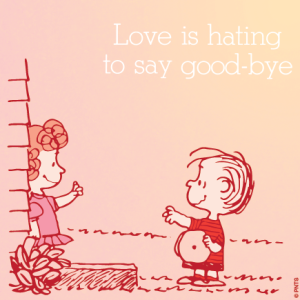 Love is hating...