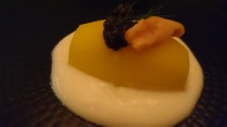 Caviar and Uni on Potato
